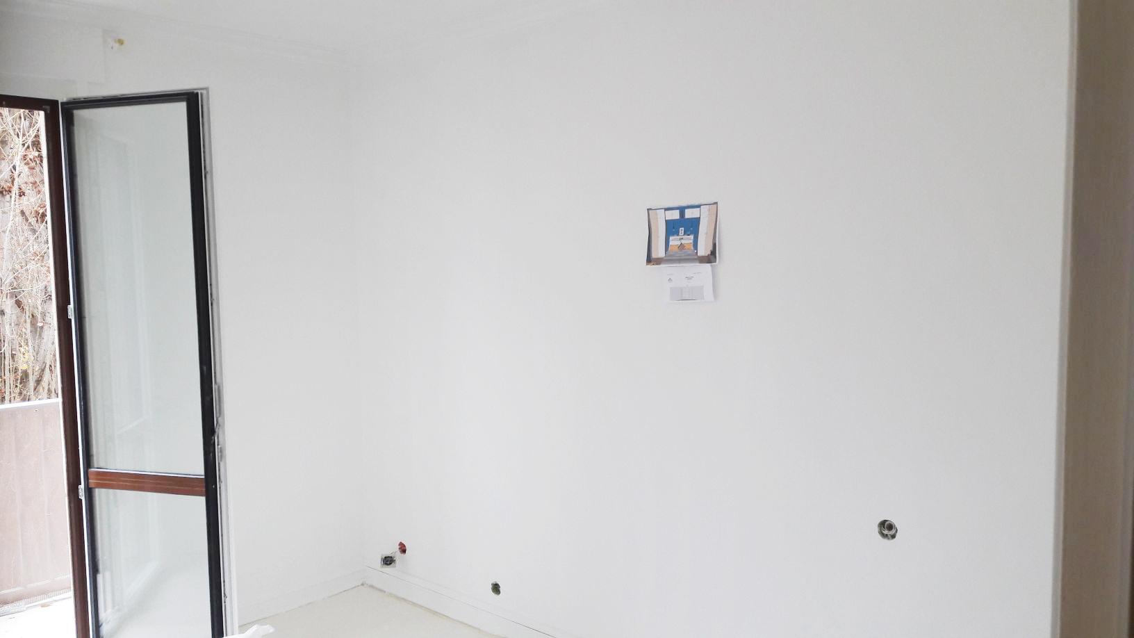 Travaux dans la future chambre bleue - Studio Chichichic